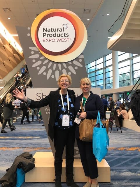 Harbinger at the Natural Foods Expo 2019